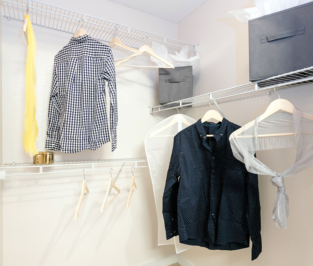 Spacious Closets - Downtown Loveland Apartments