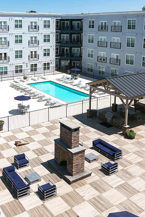 Pool Area - New Apartments in Loveland